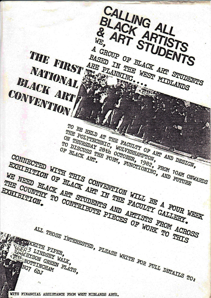 1982 convention flyer